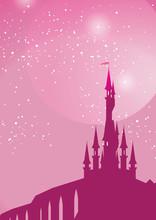 Pink Fairy On Toadstool