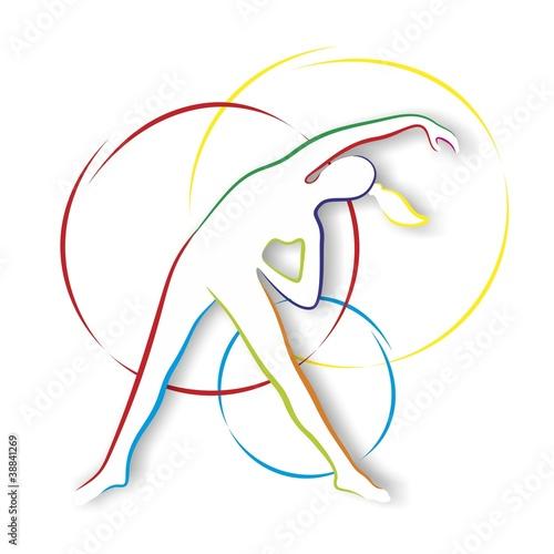 kolorowa-sylwetka-sportowca