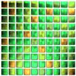 Leinwanddruck Bild - green mosaic