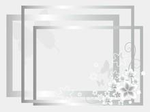 Silver Wedding Background