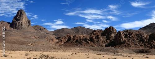 Fotobehang Algerije Blick ins Hoggargebirge Algerien
