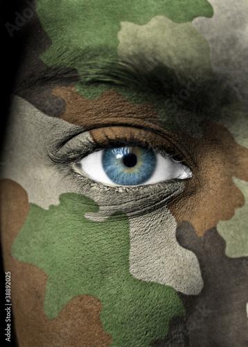Fotografia  Soldier portrait
