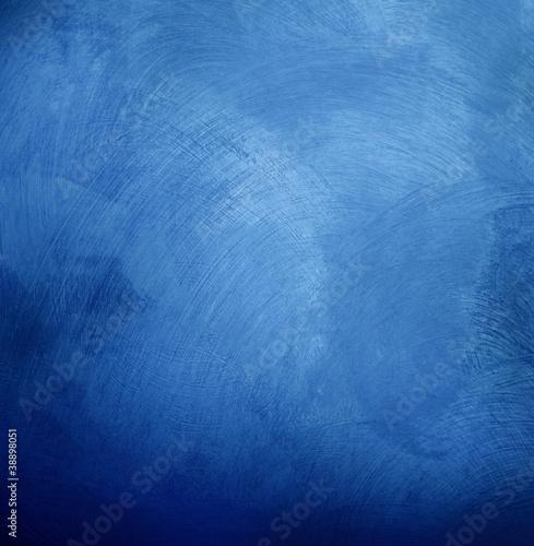 fondo pittura blu Fototapet