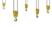 Few Crane Hooks