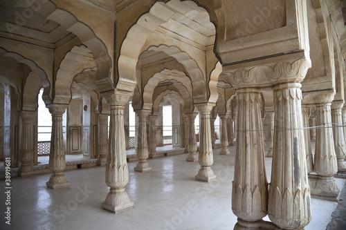 Fototapety, obrazy: Columns arabic style in India