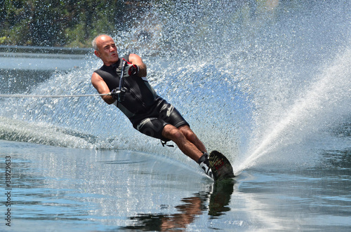 Fotografie, Obraz  Water Sports - Water Skiing