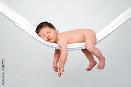 Fotografia, Obraz Baby relaxing