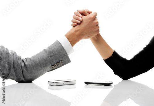 Fotografía  business conflict concept