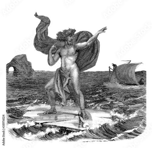 Fotografie, Obraz  God of the Sea
