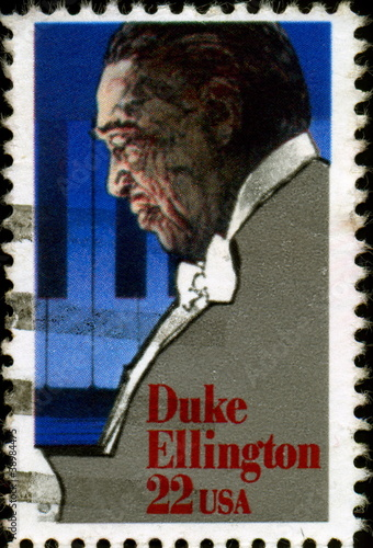 Photo  Duke Ellington.1899 - 1974. Us Postage