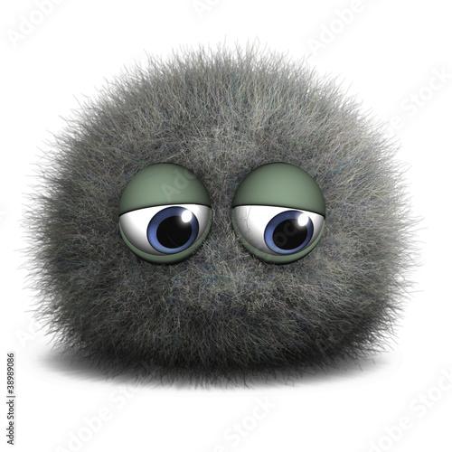 Foto op Aluminium Sweet Monsters gray dust