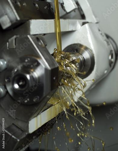 Fotografía  Oil in machine