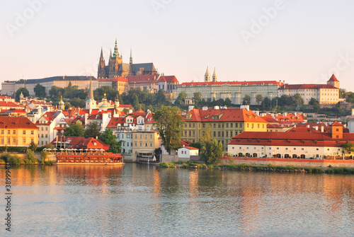 Poster Prague Prague Castle at sunrise