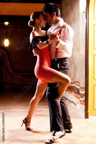 Fotografie, Obraz  Pojďme Tango!