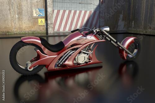 Poster Motocyclette MotoArrow