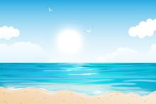 Summer Tropical Beach