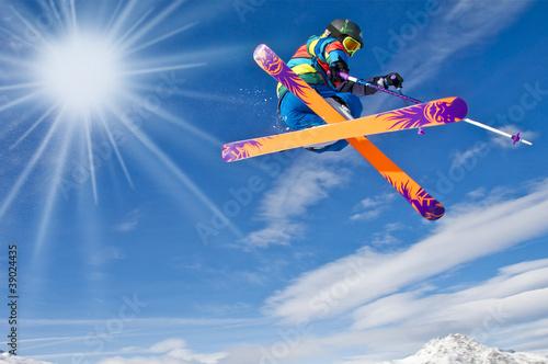 Fotomural Skispaß
