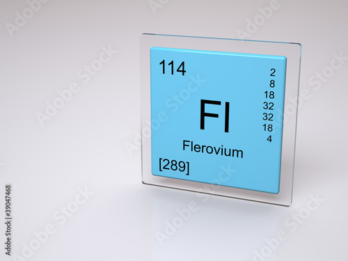 Tela  Flerovium 114 - new element of the periodic table