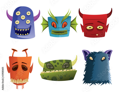 Poster de jardin Creatures Monsters