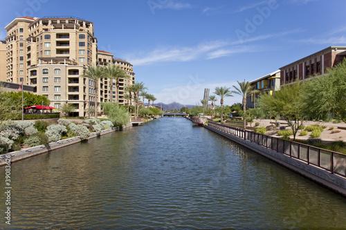 Fotografia, Obraz  Scottsdale Arizona Waterfront District