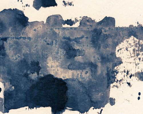 Plakat Tekstura tuszu