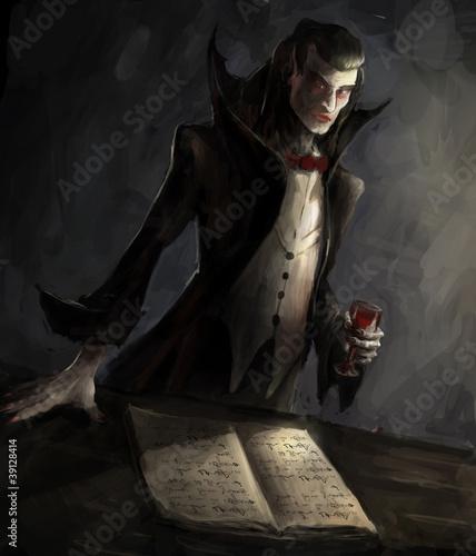 Fotografie, Obraz  vampire