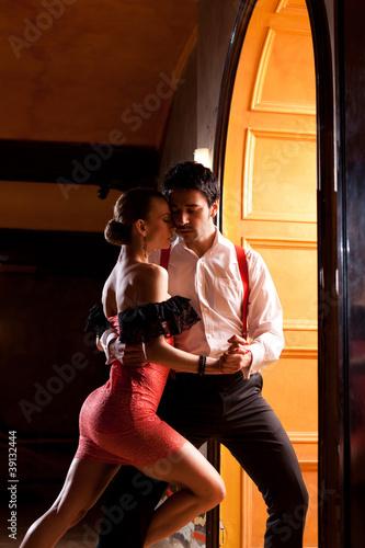 Ingelijste posters Dance School Let's Tango!