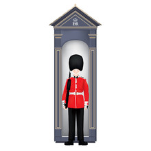 Beefeater Soldier Guardhouse -...