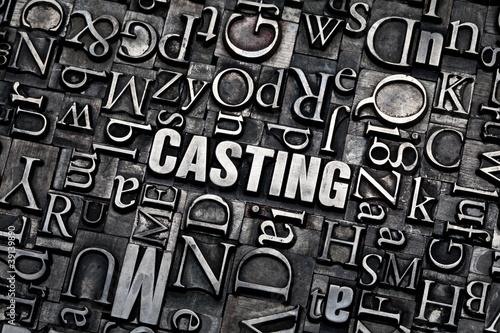 Fotografering  casting