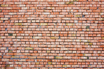 The texture of brick