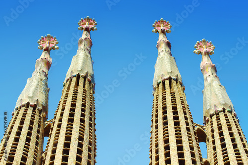 Sagrada Familia, Barcelona, Spain Canvas Print