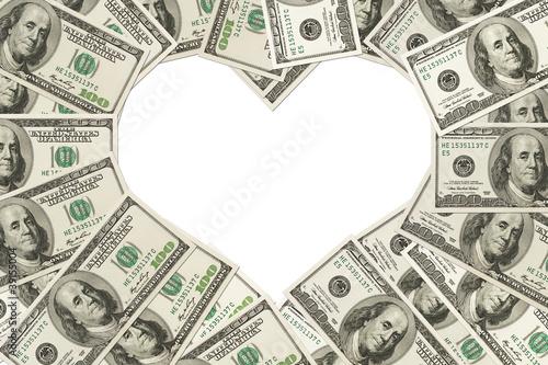 Obraz na plátne The love of money