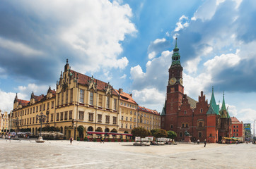 The City Hall, Wroclaw, Poland