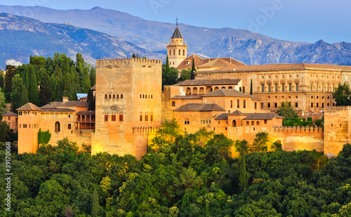 Alhambra palace, Granada, Spain #39170068