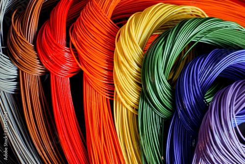 fili colorati