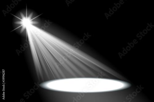Keuken foto achterwand Licht, schaduw scheinwerfer v2 I