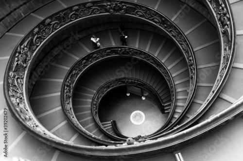 Wall Murals Stairs Vatican museum