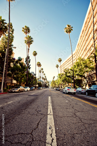 Photo  Palm streets of Beverly Hills