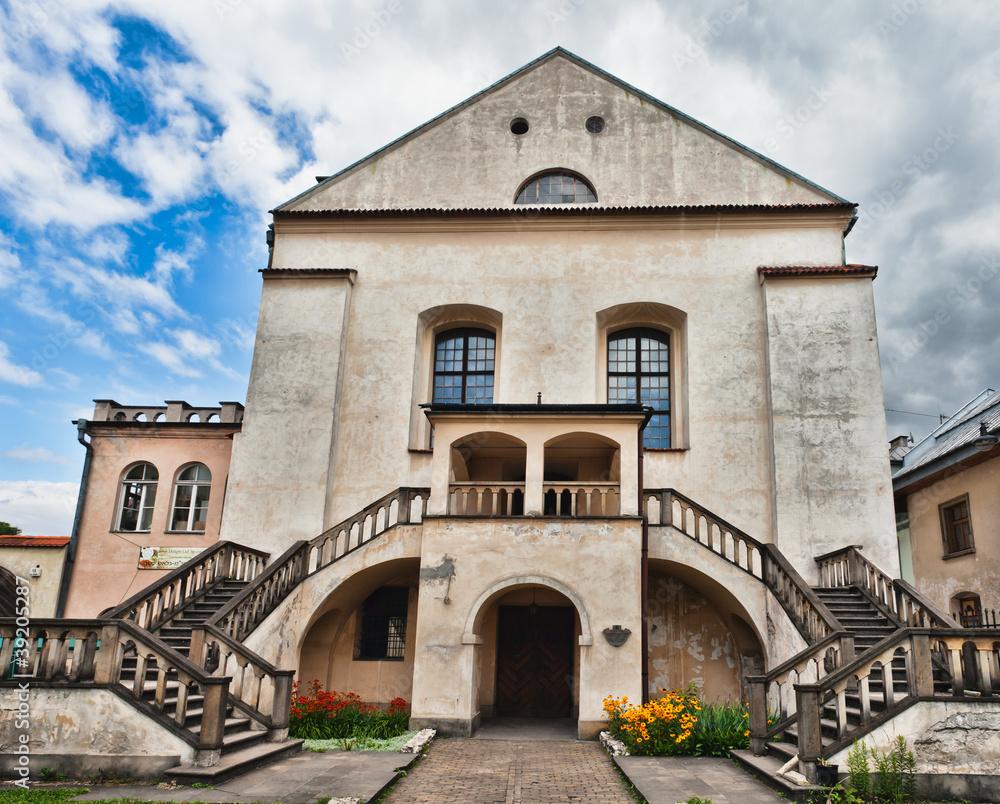 Fototapety, obrazy: Old Synagogue Izaaka in Kazimierz district of Krakow, Poland