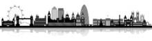 Skyline London Detailliert  Mi...