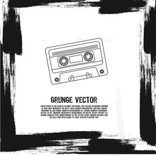 Grunge Cassette