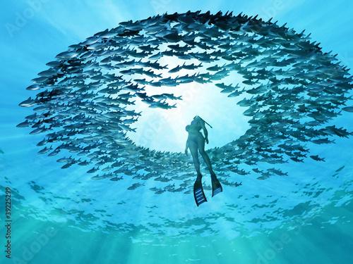 Valokuva  eye of the ocean