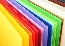 Farbauswahl Papier