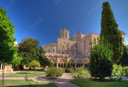Cathedral monastery in Tarragona