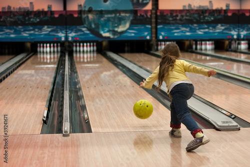 Foto bowling game