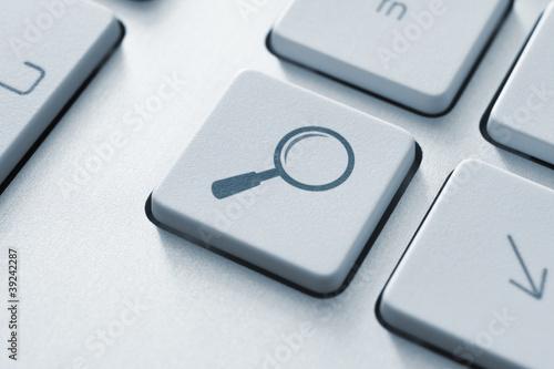 Fotografia  Search Button On Keyboard
