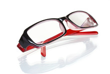 Beautiful Glasses Isolated On ...