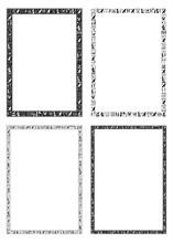 The Egyptian Hieroglyphic Decorative Frames