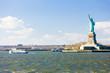 Liberty Island and Statue of Liberty, New York, USA