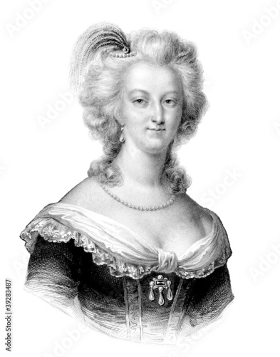 Queen Marie-Antoinette - 18th Canvas Print